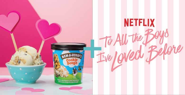 Combina Cookie Dough com o filme To All The Boys I've Loved Before