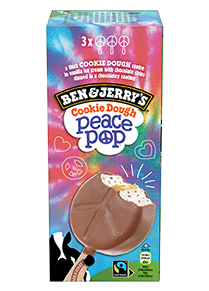 Peace Pop Original Ice Cream Ice Cream Bar Multipack